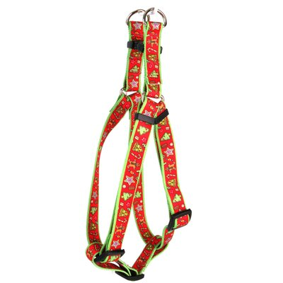 Yellow Dog Design Holiday Treats Step-In Harness