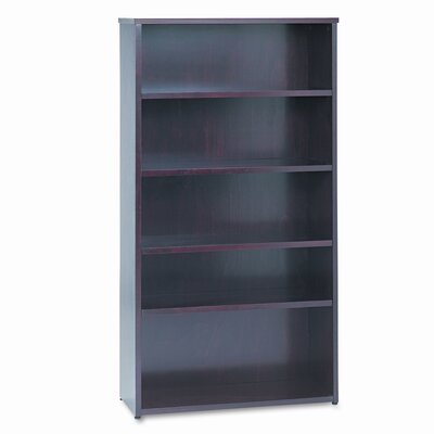 HON Basyx Bw Wood Veneer Series 5-Shelf Bookcase