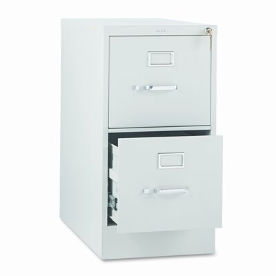 HON 310 Series Two-Drawer Letter Vertical File