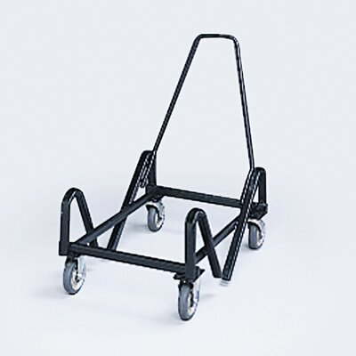 HON Olson Stacker Truck Cart, 40-Chair Capacity, 21-3/8 x 35-1/2 x 37, Black