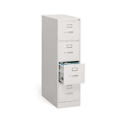 HON 310 Series Four-Drawer Letter Vertical File