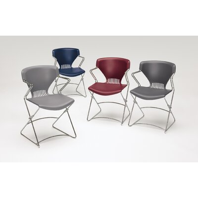 HON Olson Series Flex Stacker Arm Chairs (Set of 4)