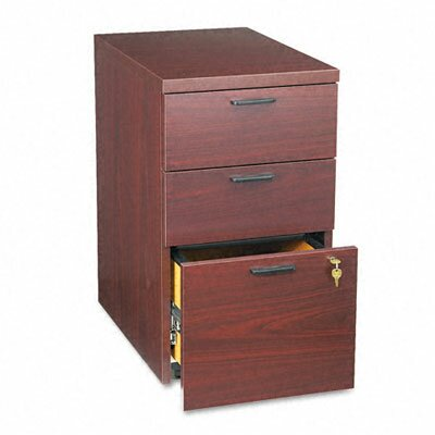 "HON 10500 Series Box/Box/File Mobile Pedestal, 15.75"" Wide"