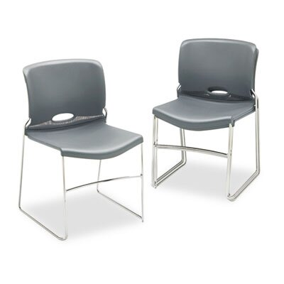 HON Olson Stacker Chair, Silver Gray, Four/Carton