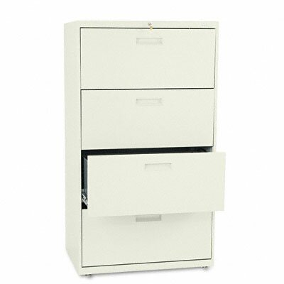 HON 500 Series Two-Drawer Lateral File, 30W X53-1/4H X19-1/4D