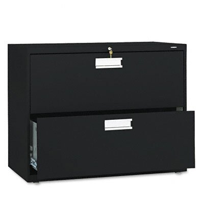 "HON 600 Series 36"" W Two-Drawer Lateral File"