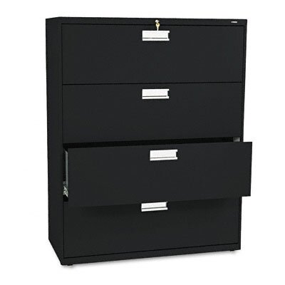 "HON 600 Series 42"" W Four-Drawer Lateral File"