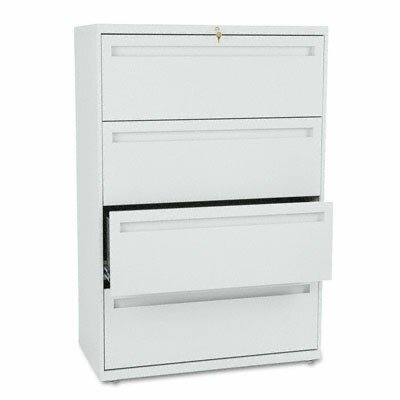 "HON 700 Series 36"" W Four-Drawer Lateral File"