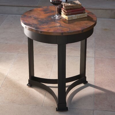 Global Views Classic Copper End Table