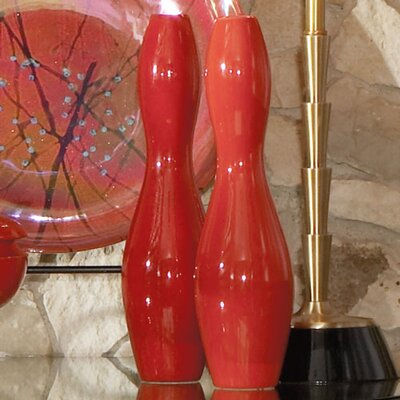 Global Views Bowling Pin Vase