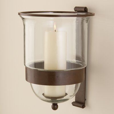 Global Views Simple Grande Wall Hurricane Candle Holder