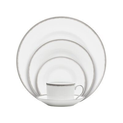 Silver Aster 5 Piece Place Setting