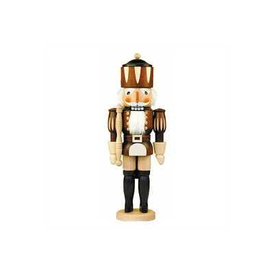 Christian Ulbricht Natural Wood Finish Medium King Nutcracker