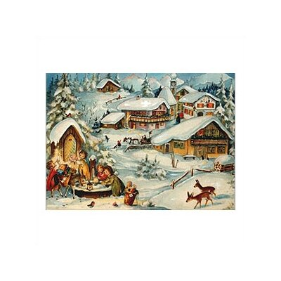 Alexander Taron Small Kids and Donkey Advent Calendar