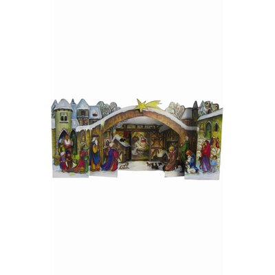 Alexander Taron Fold Out Manger Advent Calendar