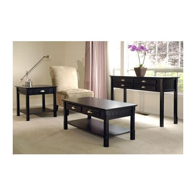Winsome Oak Park 3 Piece Coffee Table Set