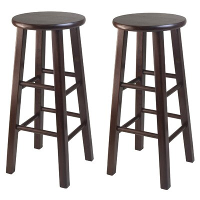 Winsome Square Leg Bar Stool Set (Set of 2)