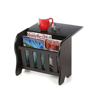 Winsome Magazine Side Flip Top Rack
