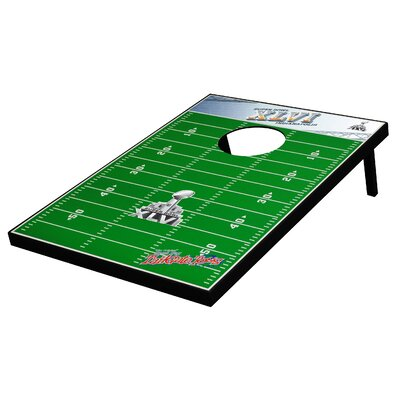 Tailgate Toss NFL Superbowl 46 Tailgate Toss Game Set
