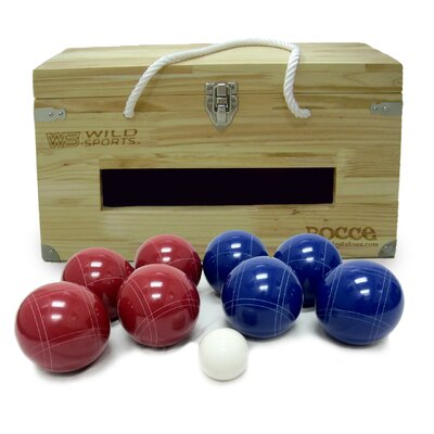 Tailgate Toss Crated Bocce Set
