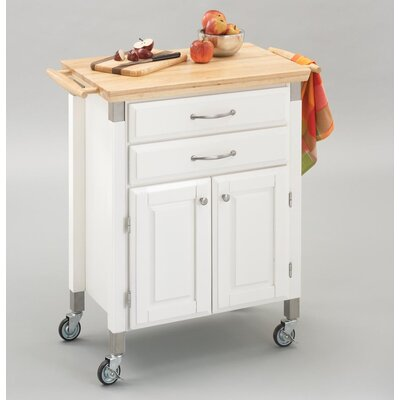 Home Styles Dolly Madison Prep and Serve Kitchen Cart