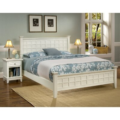 Home Styles Arts and Crafts Queen Panel Bed