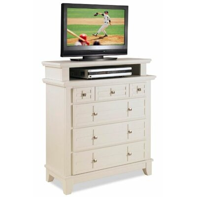 "Home Styles Arts & Crafts 4 Drawer 36"" TV Media Chest"