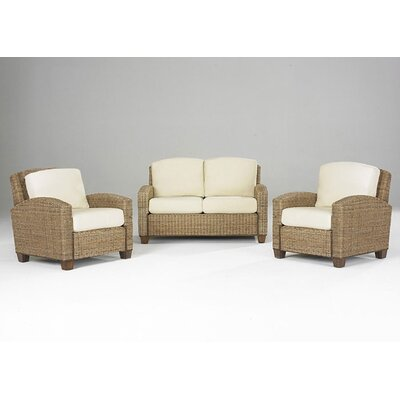 Home Styles Cabana Banana 2 Chairs and Loveseat