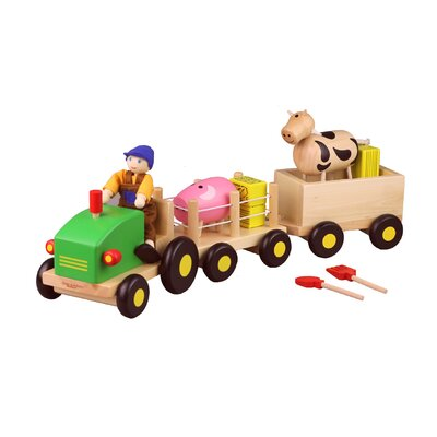 Discoveroo Wooden Farm Set