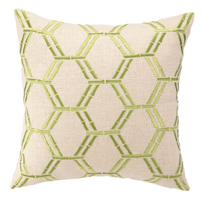 Courtney Cachet Bamboo Embroidered Decorative Pillow