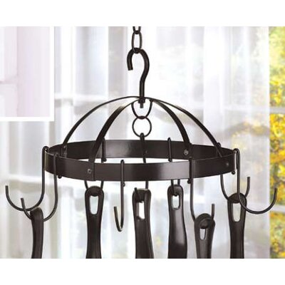 Compact Kitchen Hanging Pot Rack