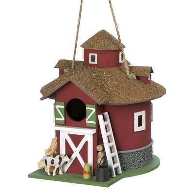 Zingz & Thingz Barn Birdhouse