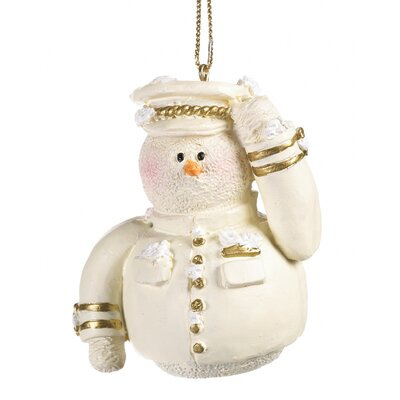 Zingz & Thingz Air Force Snowman Ornament