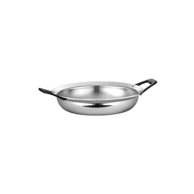 Limited Edition Butterfly Stainless Steel 3-qt. Open Everyday Pan