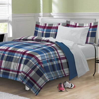 Varsity Plaid Bed in a Bag Set