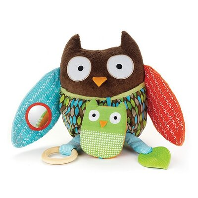 Skip Hop Treetop Friends Hug and Hide Owl Activity Toy
