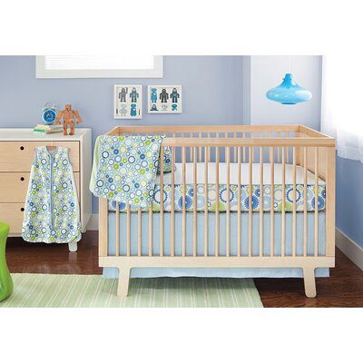 Skip Hop Moving Gears Bumper Free 4 Pieces Crib Bedding Set