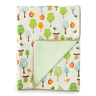 Skip Hop Treetop Friends Nursery Blanket