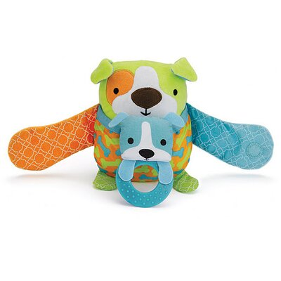 Skip Hop Hug and Hide Dog Stroller Toy