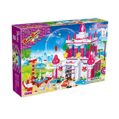 Banbao Loving World Wedding Chapel Block Set