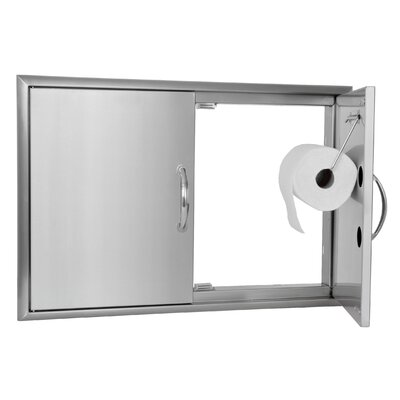 Blaze Grills Double Access Door with Paper Towel Dispenser