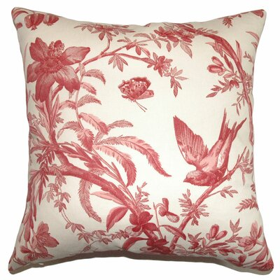 Xandrea Toile Cotton Pillow
