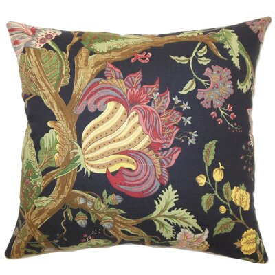 Bella Floral Cotton Pillow