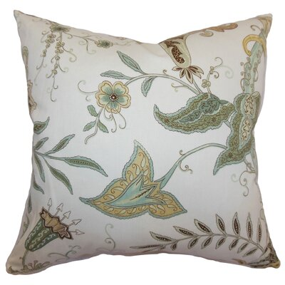 Jaenbert Floral Cotton Pillow