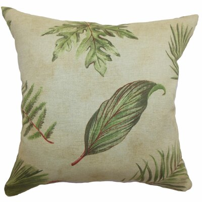 Barsia Leaf Cotton Pillow