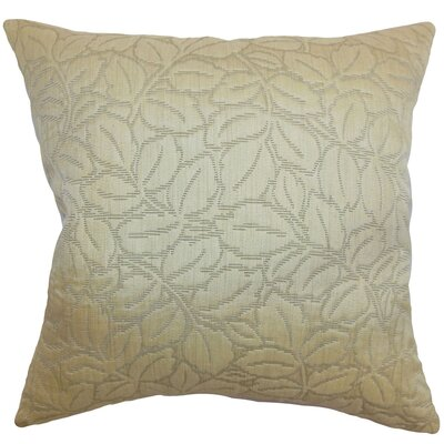 Perdita Floral Cotton Pillow