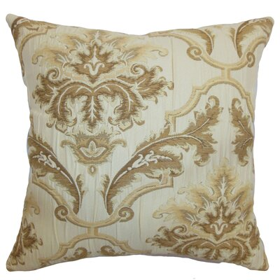 Virgilia Floral Cotton / Silk Pillow