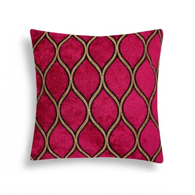 Domusworks Malta Velvet Decorative Pillow