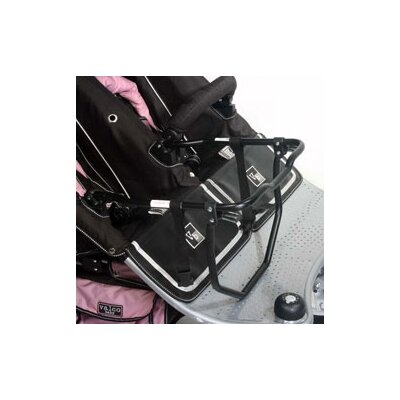 Car Seat Adapter for Twin Tri Mode Stroller