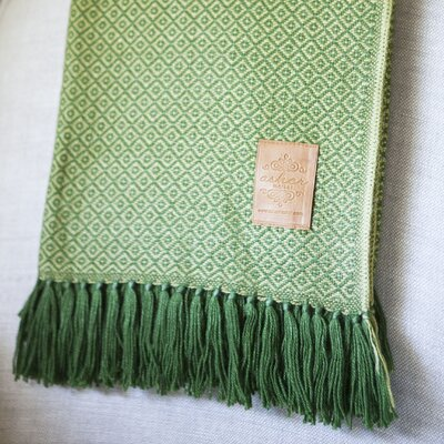 Asher Market Meadow Alpaca Throw